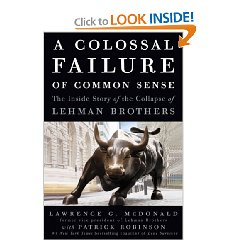 book review  colossal failure  common sense   story   collapse  lehman