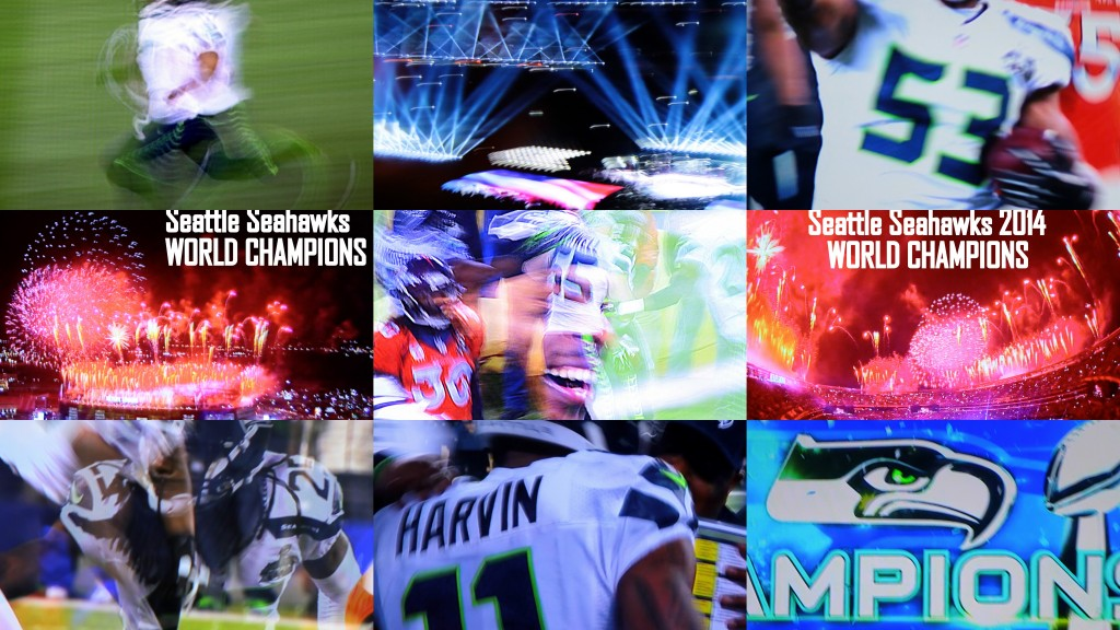Seahawks Collage