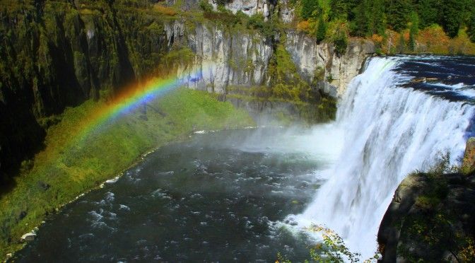 The Mesa Falls Scenic Byway