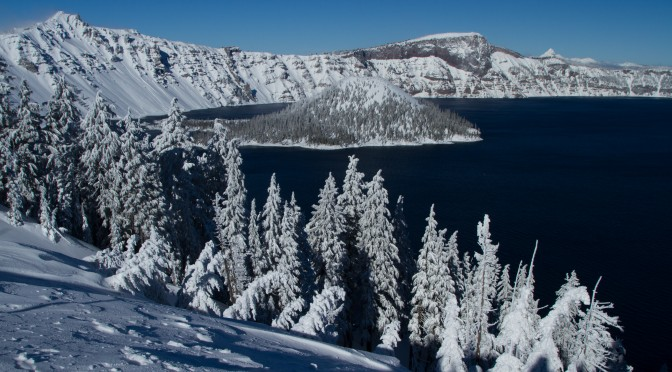 Crater Lake National Park – A Winter Wonderland