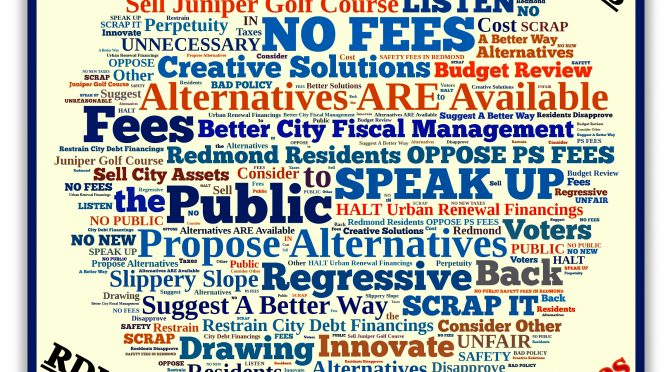 OPPOSE Proposed Public Safety Fees in Redmond, Oregon