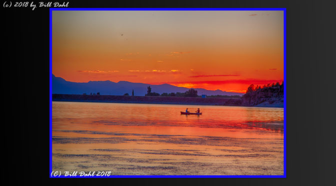 Central Oregon Summer Sunset – by Bill Dahl