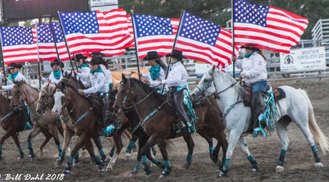 2018 Deschutes County Fair Rodeo – August 2018