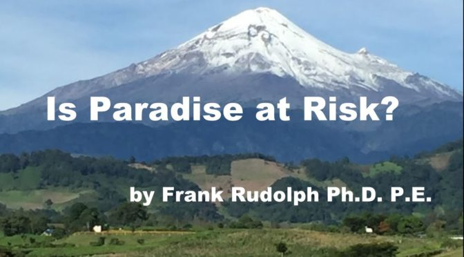 Is Paradise at Risk? by Frank Rudolph